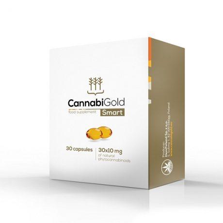 Aceite de cáñamo en cápsulas CannabiGold