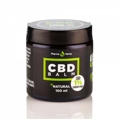 CBD em balsamo, biologico, sem OMG, vegan e gluten free. CBD para Aplicação tópica.
