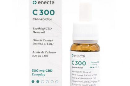 óleo CBD Enecta, com 3% canabidiol